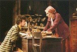 KEN  FRIEDMAN - Sad Sack: Pavel (John Keating) tries to make his - mom (Olympia Dukakis) feel sorry for him.