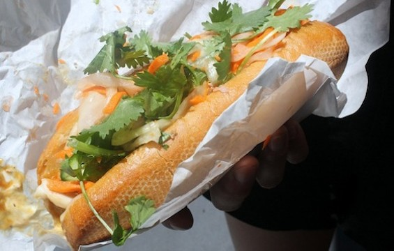 Saigon Sandwich's special combo banh mi - KATE WILLIAMS