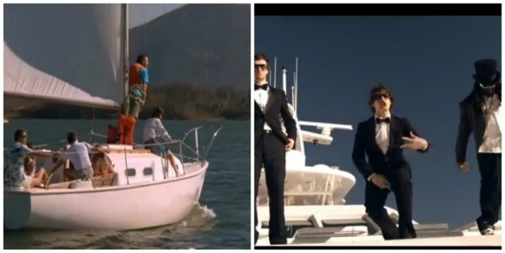 Sailing or yachting? It's your call! - WHAT ABOUT BOB/SNL/YOUTUBE