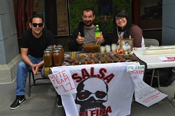 Salsa Delfina: winning friends and influencing people