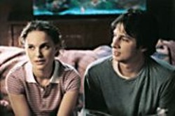 K. C. BAILEY - Sam (Natalie Portman) lies to be interesting, - and Andrew (Zach Braff) lies to pay the rent.