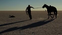 Sam Shepard in Blackthorn.