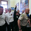 Same-Sex Couples Attempt to Get Married at S.F. City Hall, Get Arrested Instead (Photos)