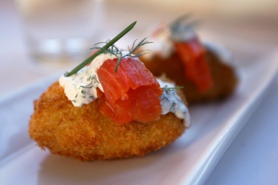San Carlos' Limon, which currently offers delectables such as salmon-potato croquettes, will soon be transformed into the more upscale Gusto. - MIKE KOOZMIN/THE S.F. EXAMINER