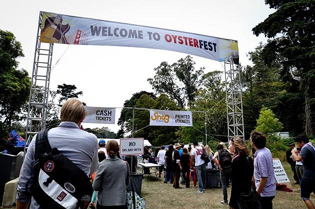 San Francisco Oysterfest at Sharon Meadows