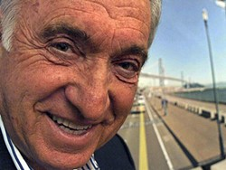 "MIKE KOOZMIN - San Francisco, says former Mayor Art Agnos, will always be a great city — ""unless we fuck it up!"""