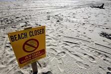 Sand, sun ... sewage?