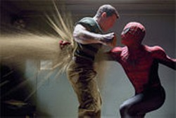 COLUMBIA PICTURES - Sandman takes on Spider-Man in this predictably disappointing sequel.