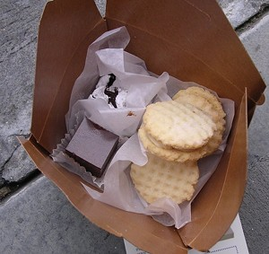 Sandwich cookies from Sweet Constructions are half-off this week via Yelp. - JOHN BIRDSALL