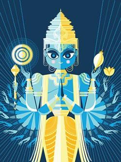 SANJAY PATEL - Sanjay Patel's Vishnu.