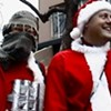 SantaCon Revelers Drenched, Pointless, Ignored -- Yet Festive