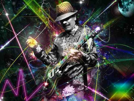 Santana has Supernatural record sales. - FLICKR/LOBOMX