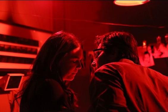 Sarah and Hank's dark room shenanigans. - COURTESY OF NBC.COM
