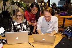 VALERIE DEMICHEVA - Sarah Austin, Melissa Cheng, and Michael Wood.