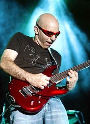 Satriani: Not the first to shave his head after balding set in.
