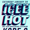 Saturday Night: Icee Hot Celebrates Its First Birthday with Kode9 at SOM Bar