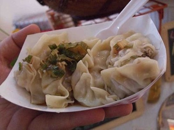 Saucy Dumplings will teach you how to make your own. - TAMARA PALMER