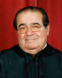 Scalia stupified by the constitution