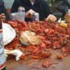 Yats' Crawfish Boil a Pre-Party for SANFRANOLA Bash