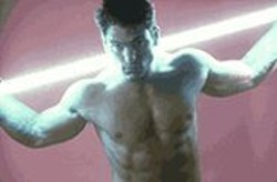 PIERS  HANMER - Scott Gurney as Johnny Rebel.
