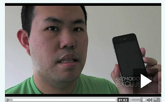 Screenshot from Jason Chen's video, April 2010