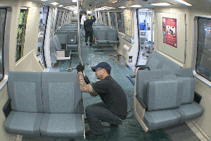 Seat porn: the new vinyl seats at a glance. - BART