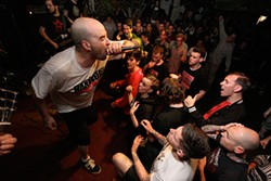 MATT GILL - Seattle hardcore punk band Trial performs at 924 Gilman earlier this year. Some Gilman fans say the club has abandoned its founding ideals. Slideshow: Step inside 924 Gilman