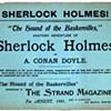 "See Ephemera from Original Sherlock Holmes Works in ""You Know My Methods"""