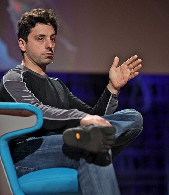 Sergey Brin -- do you mean be very evil? - WIKIPEDIA