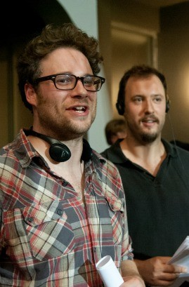 "Seth Rogen and Evan Goldberg, directors of ""This Is the End"""