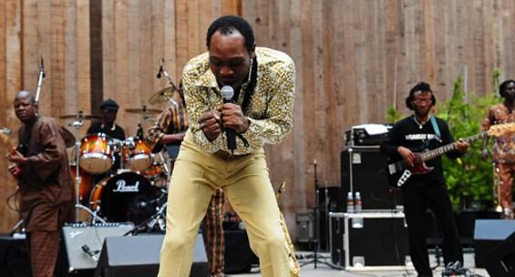 Seun Kuti performs at Stern Grove, 2008 - EKAPHOTOGRAPHY