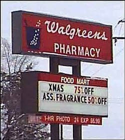 Seven more Walgreens -- and their wonderful billboards -- are headed for S.F.