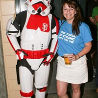 SF Giants Star Wars Day @ AT&T Park