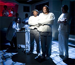ZABRINA TIPTON - SF Playhouse's production crams too many actors onto a small stage.One Flew Over the Cuckoo's Nest