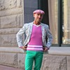 S.F. Street Fashion: Pink Is the New Black