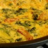"SFoodie: Frittata ""Flattata"" with Bacon, Potatoes, and Greens"
