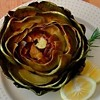 SFoodie: Simply Roasted Artichokes; Wrap and Roll