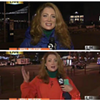 SFPD Gets Local Reporter to Remove Blue Jacket and Put on Orange Sweatshirt While Reporting on the Giants