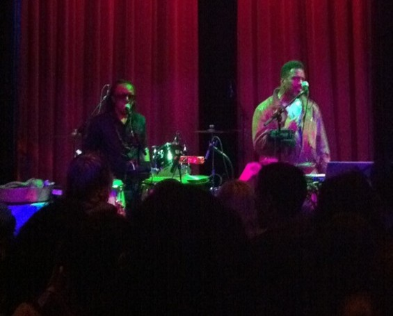 Shabazz Palaces at Yoshi's last night.