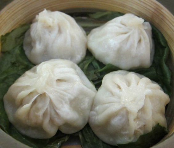 Shanghai dumplings - PHOTOS BY W. BLAKE GRAY