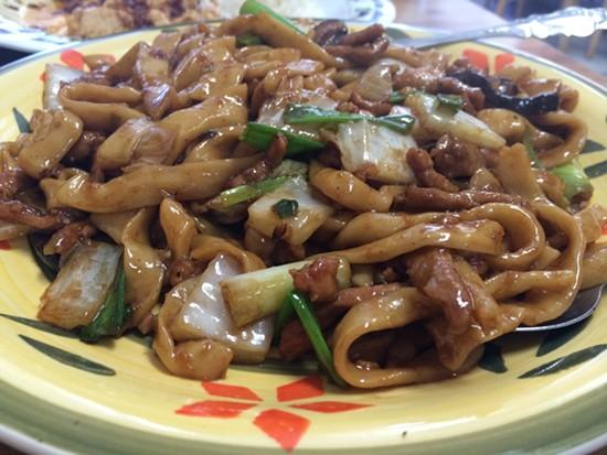 Shanghai noodles. - PETE KANE