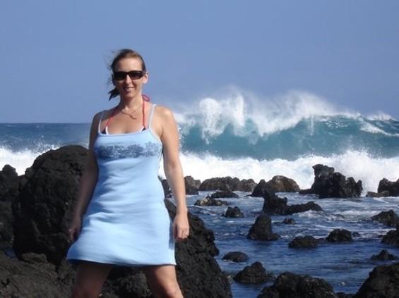 Shannon Dean in Maui in 2005