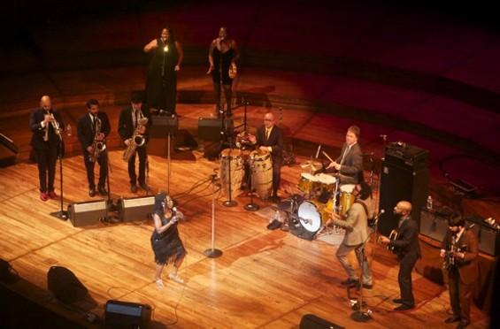 Sharon Jones and the Dap Kings at Davies Symphony Hall
