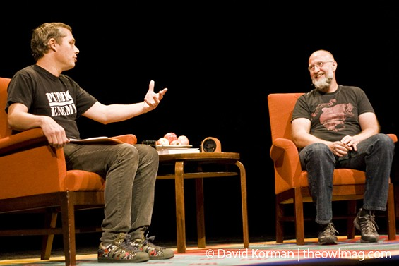 Shepard Fairey and Bob Mould in conversation. - VIA THE OWL MAG