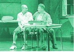 KEN  FRIEDMAN - Shepard's Flock of Egos: Some celebrities, like Woody Harrelson (with James Gammon), perform admirably in Henry Moss, while others create an emotional black hole onstage.