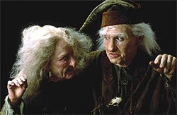 She's not a witch — she's his wife: Carol Kane and Billy Crystal in The Princess Bride.
