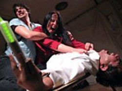 MARK  SCHWARTZ - Sick and Twisted: Re-Animator onstage.