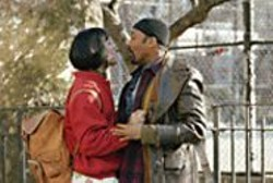 PHIL  BRAY - Singing Fools: Wilson Heredia (as Angel) - and Jesse L. Martin (as Tom).