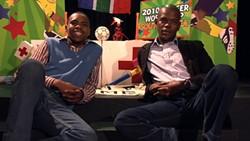 Siphiwe Fangase and Nkumbuzo Nkonyana make Make Believe look good.