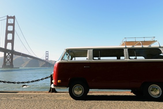 Sitting on the Dock by the Bay- Van Style. - ALL IMAGES COURTESY OF VANTIGO